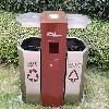 太原LED太阳能果皮箱定做-在哪能买到价格合理的太原垃圾桶
