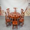 花梨明式圆桌厂家|买好的花梨1.2米明式圆桌优选广西兴越阁红木